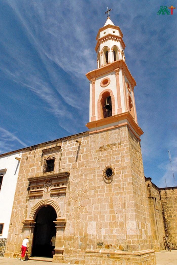 Church Of Loreto In Mexico
