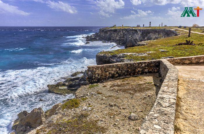 Coastline On Isla Mujeres