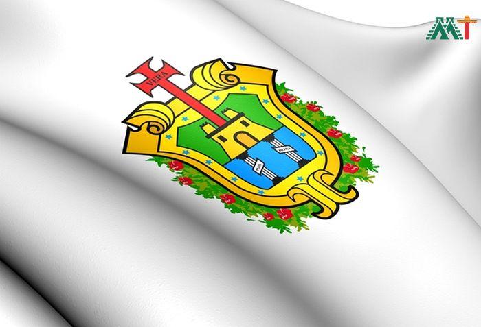 Flag Of Veracruz Mexico