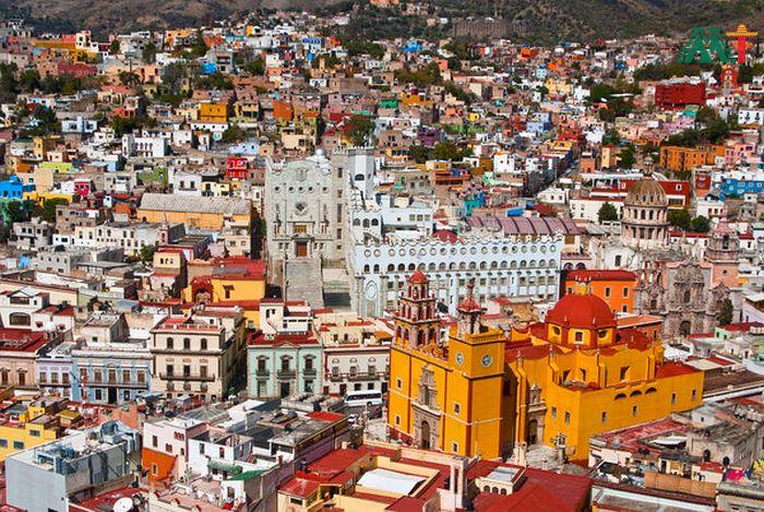 Guanajuato Cityscape Mexico