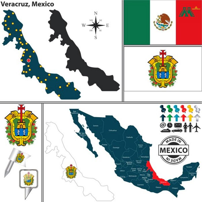 Map Of Veracruz Mexico