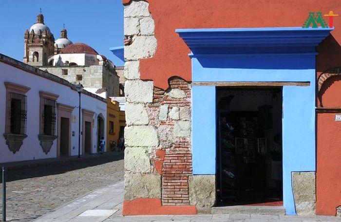 Oaxaca City Streets Mexico