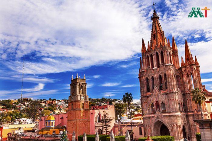 Parroquia Archangel Church In San Miguel De Allende Vacation Ideas