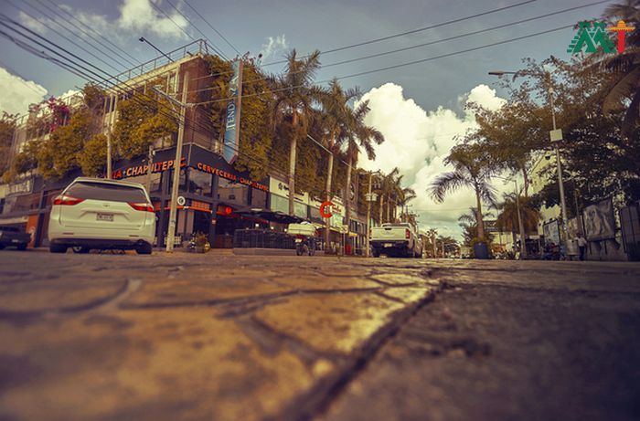 Playa Del Carmens Streets