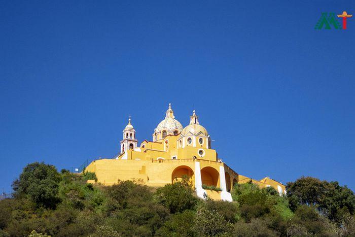Puebla Vacation Ideas Church In Cholula