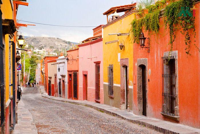 San Miguel De Allende Streets