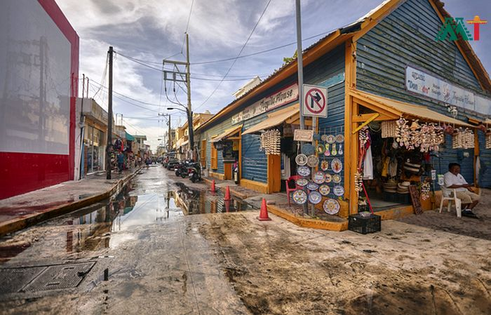 Streets In Isla Mujeres