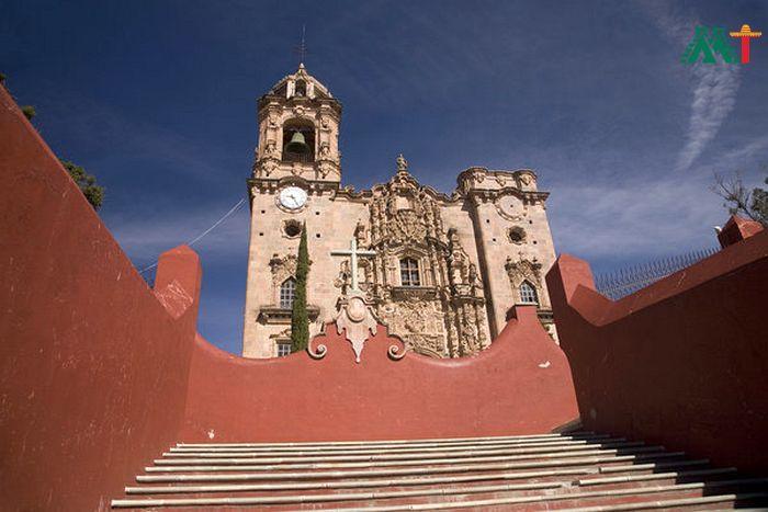 Templo De San Cayetano In Guanajuato Mexico