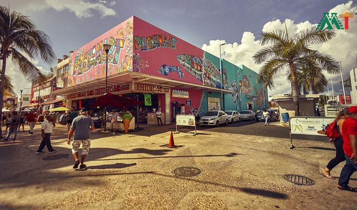 The Colors Of Playa Del Carmen