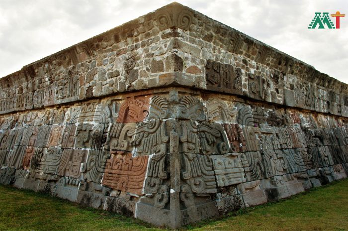 Temple of the Feathered Serpent in Xochicalco